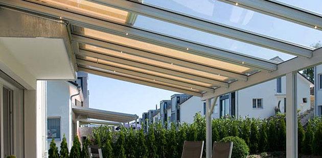 toit de terrasse en verre affordable agrandir double pergola sur la terrasse en bois with toit. Black Bedroom Furniture Sets. Home Design Ideas